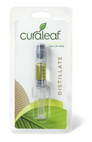 THC Distillate Concentrate Afghani (Afg)-Indica-90%-0.5mL at Curaleaf Tampa