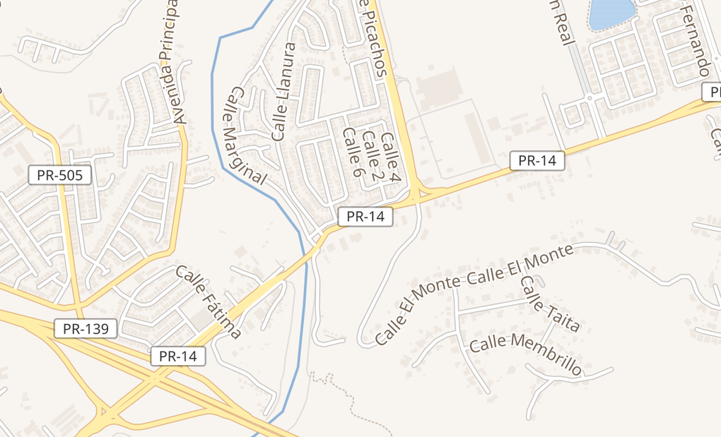 map of 1800 Carr 14Ponce, PR 00780