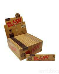 Raw Natural Unrefined 1 1/4 (50 papers/pack) - RAW