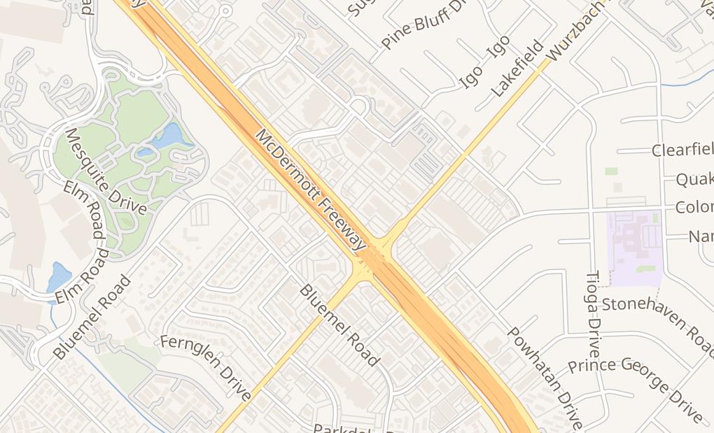 map of 9831 W Interstate 10San Antonio, TX 78230