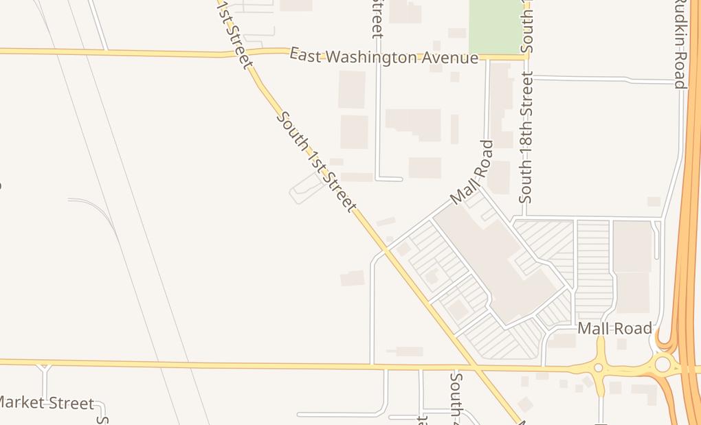 map of 2402 S 1St St Ste116Union Gap, WA 98903