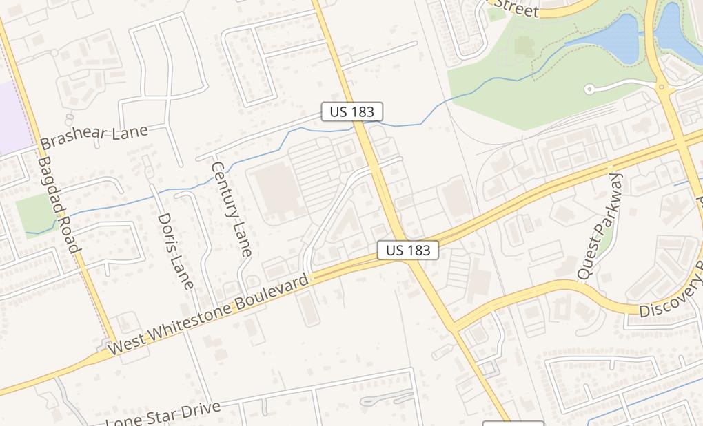 map of 202 Walton Way Ste 142Cedar Park, TX 78613