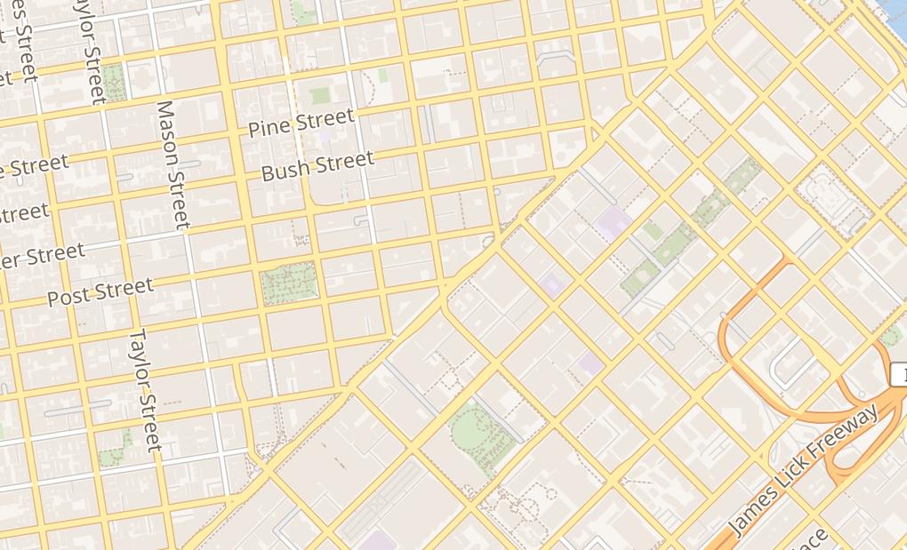 map of 701 Market StreetSan Francisco, CA 94103