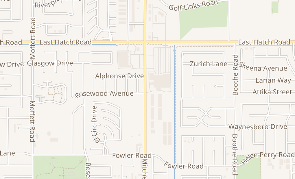 map of 1778 Mitchell Rd Suite 205Ceres, CA 95307