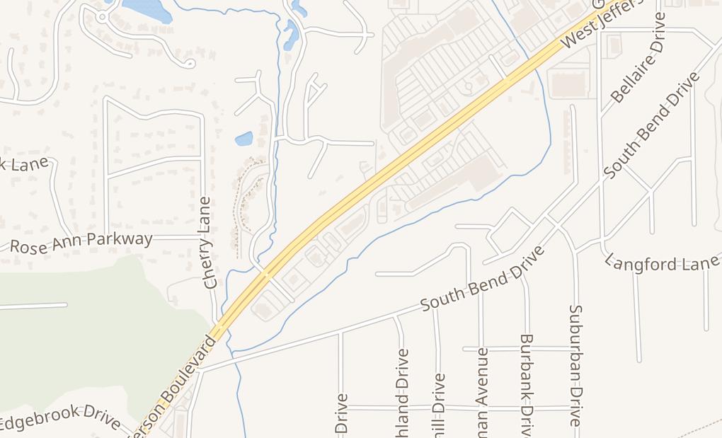 map of 6713 W Jefferson BlvdFort Wayne, IN 46804