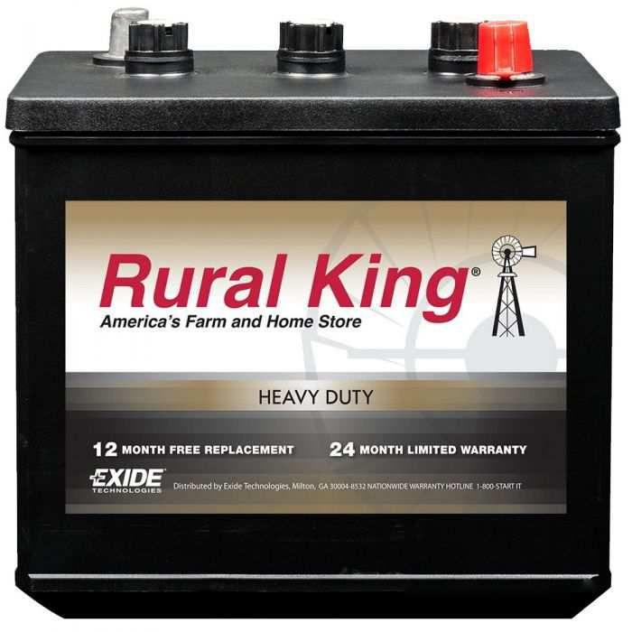Rural King/Exide Commercial Series CFT8V1