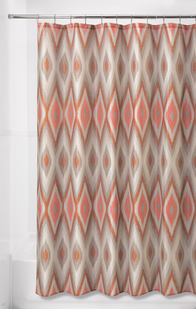 Essential Home 70 X 72 Ikat Shower Curtain