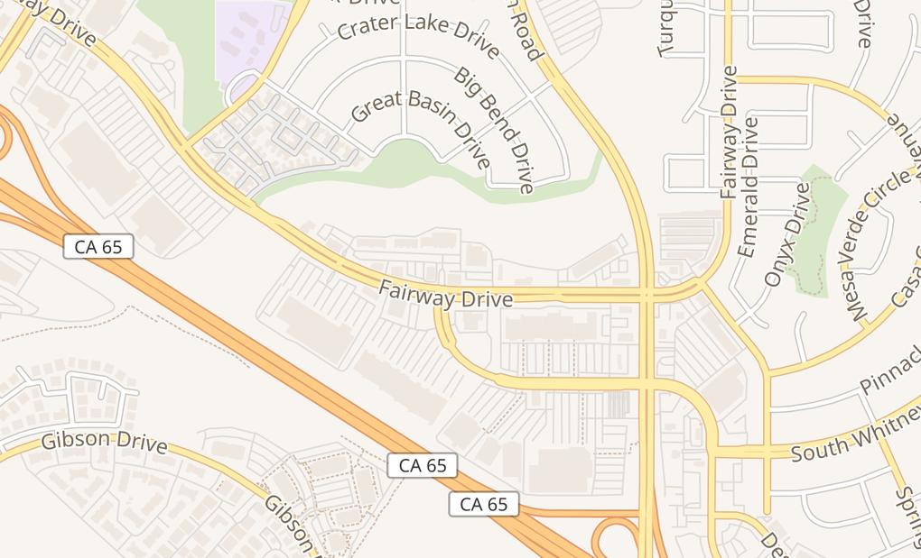 map of 9250 Fairway Dr Ste 100Roseville, CA 95678