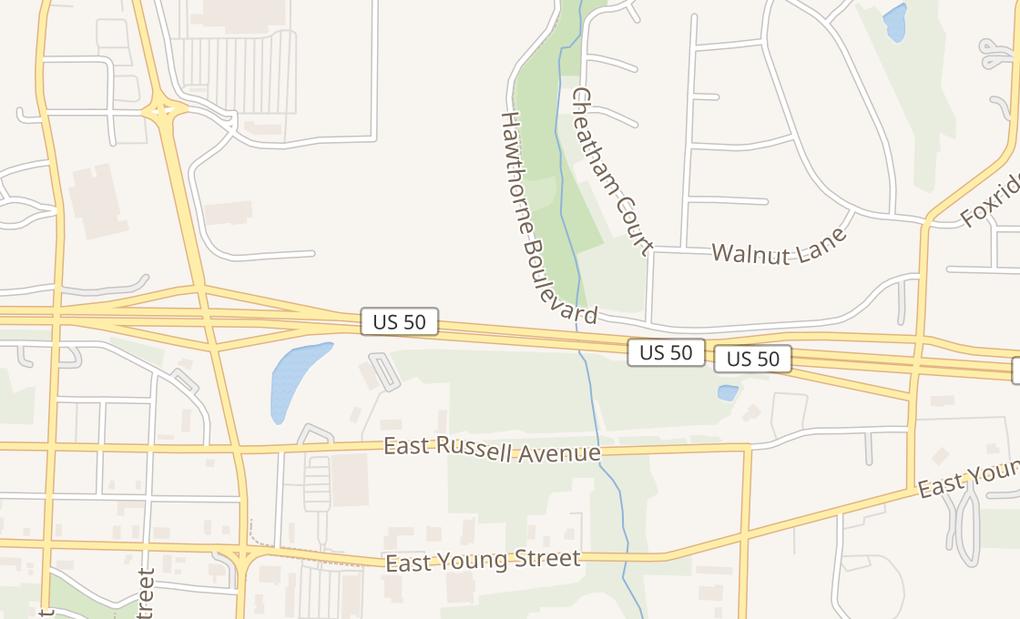 map of 303 E Cooper Blvd Ste HWarrensburg, MO 64093