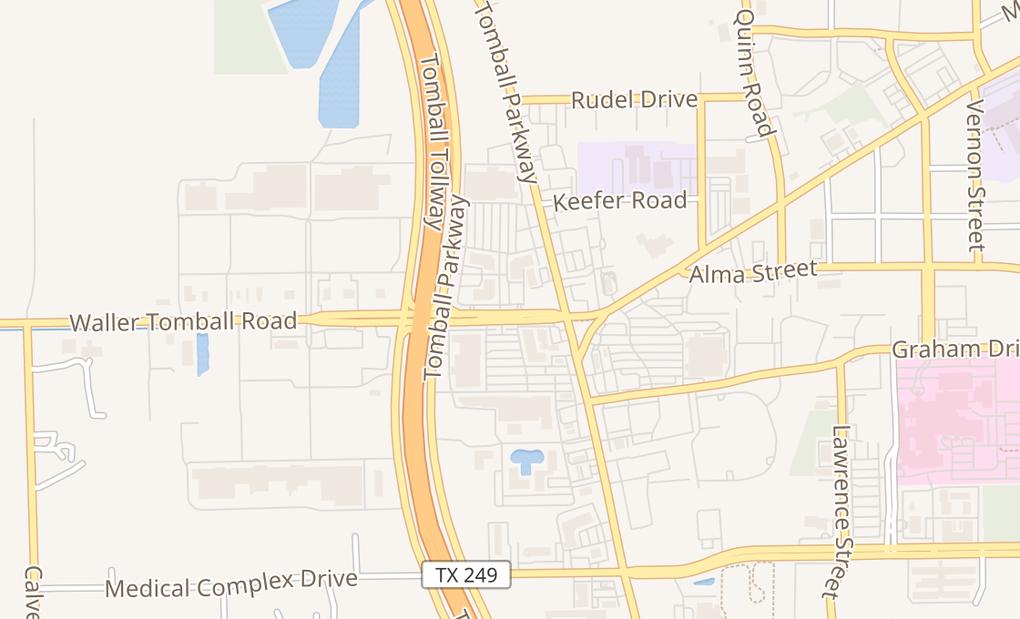 map of 14090 FM 2920 RdTomball, TX 77377