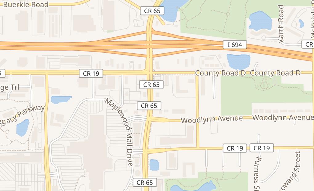 map of 3088 White Bear AveMaplewood, MN 55109