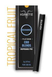 Hemp CBD- Ignite Vape Tropical Fruit at Curaleaf Maine
