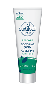 Hemp CBD Soothing Cream - Unscented at Curaleaf Plattsburgh