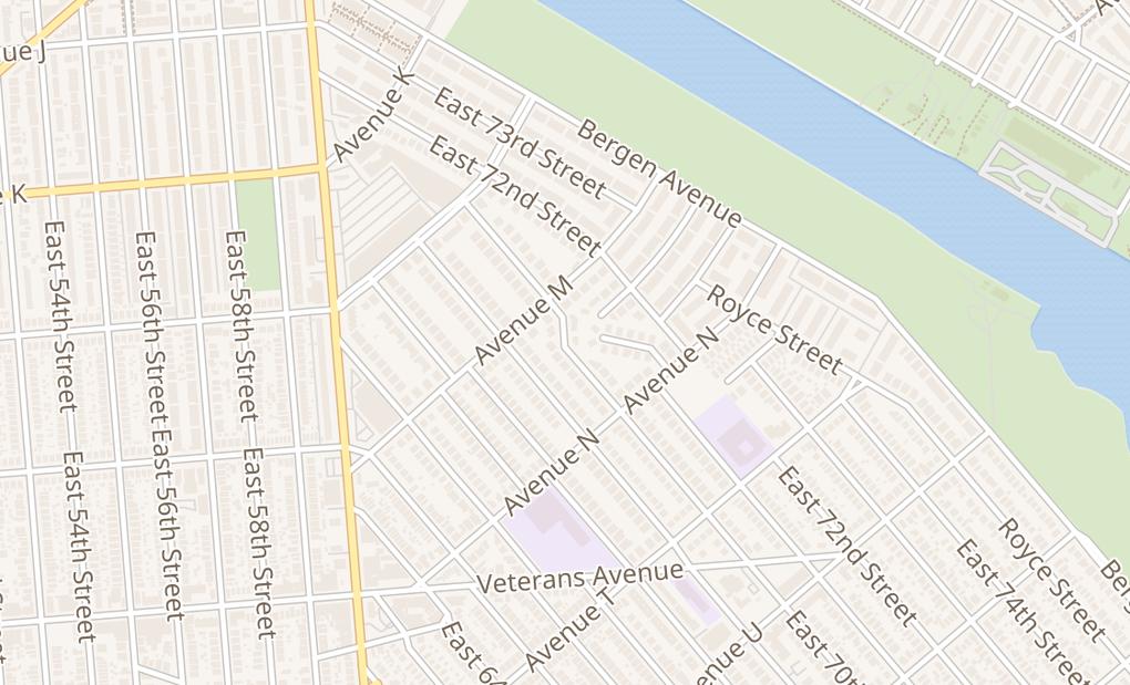 map of 5100 Kings Plz Spc 108Brooklyn, NY 11234