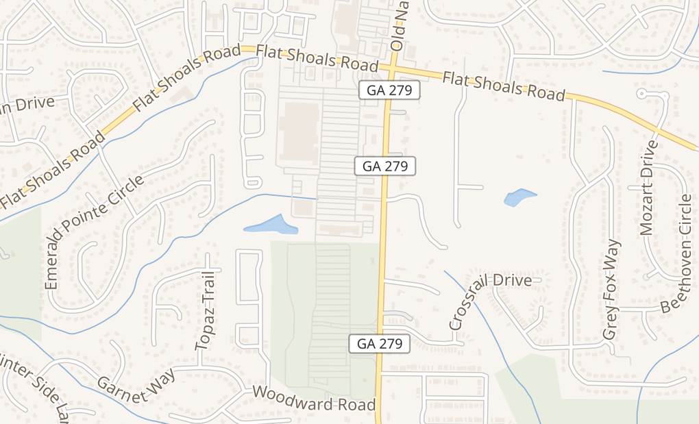map of 6175 Old National Hwy Ste 170College Park, GA 30349