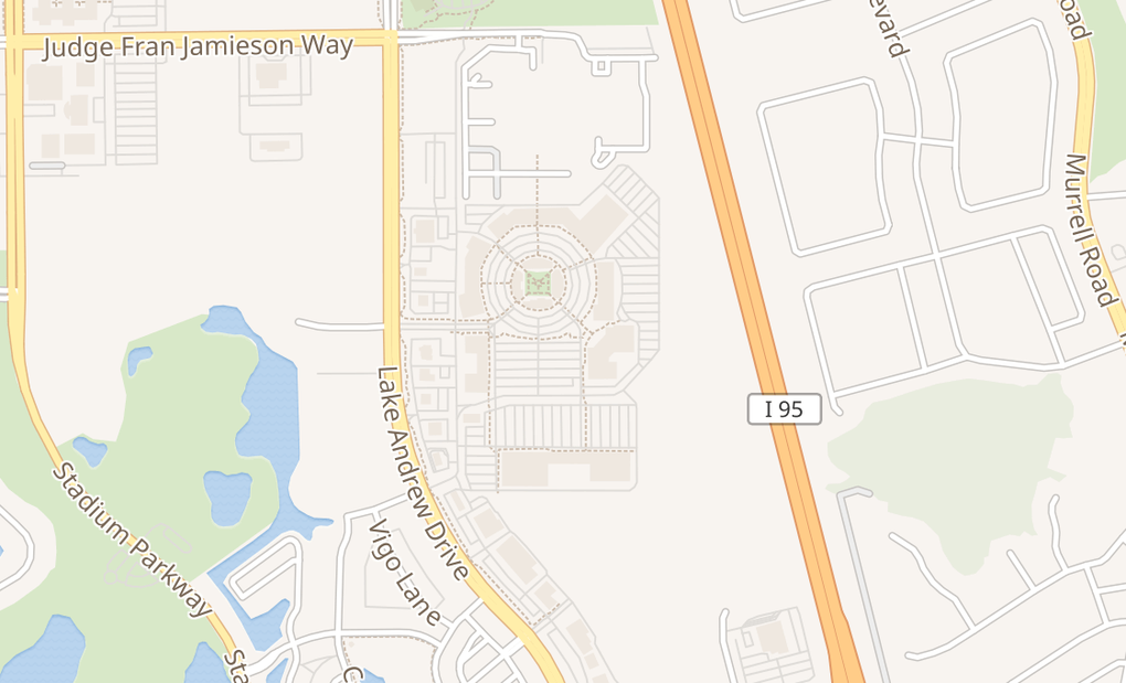 map of 2290 Town Center Ave Ste 1010Melbourne, FL 32940