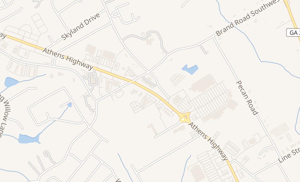 map of 3939 Atlanta Hwy Ste 104Loganville, GA 30052