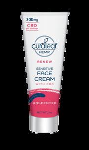 Hemp CBD Sensitive Face Cream - Unscented at Curaleaf Hudson Valley