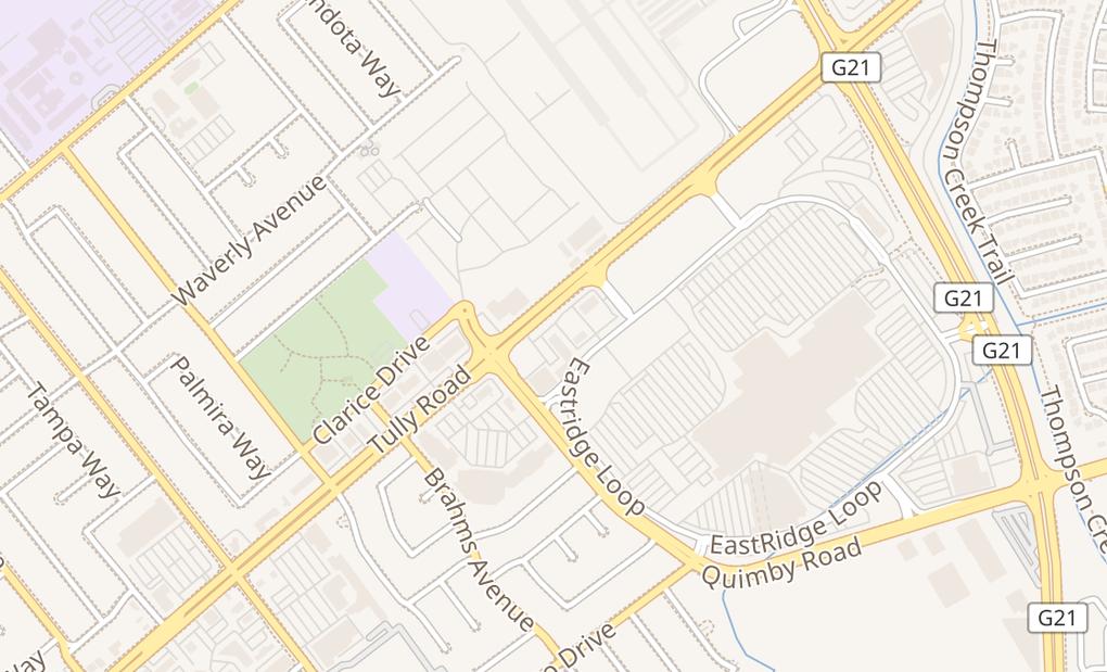 map of 2080 Tully RdSan Jose, CA 95122