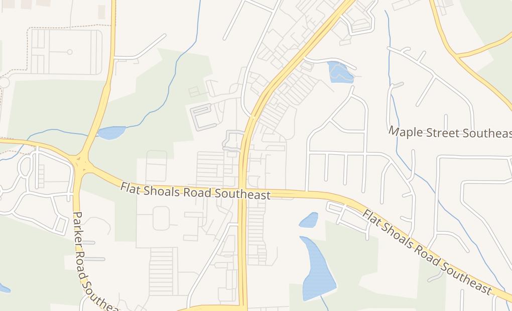map of 1724 Highway 138 SeConyers, GA 30013