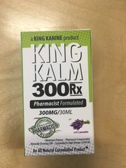 Hemp CBD- King Kalm 300mg at Curaleaf Maine