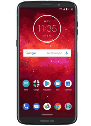 Moto Z3 playat Sprint Battleground Station