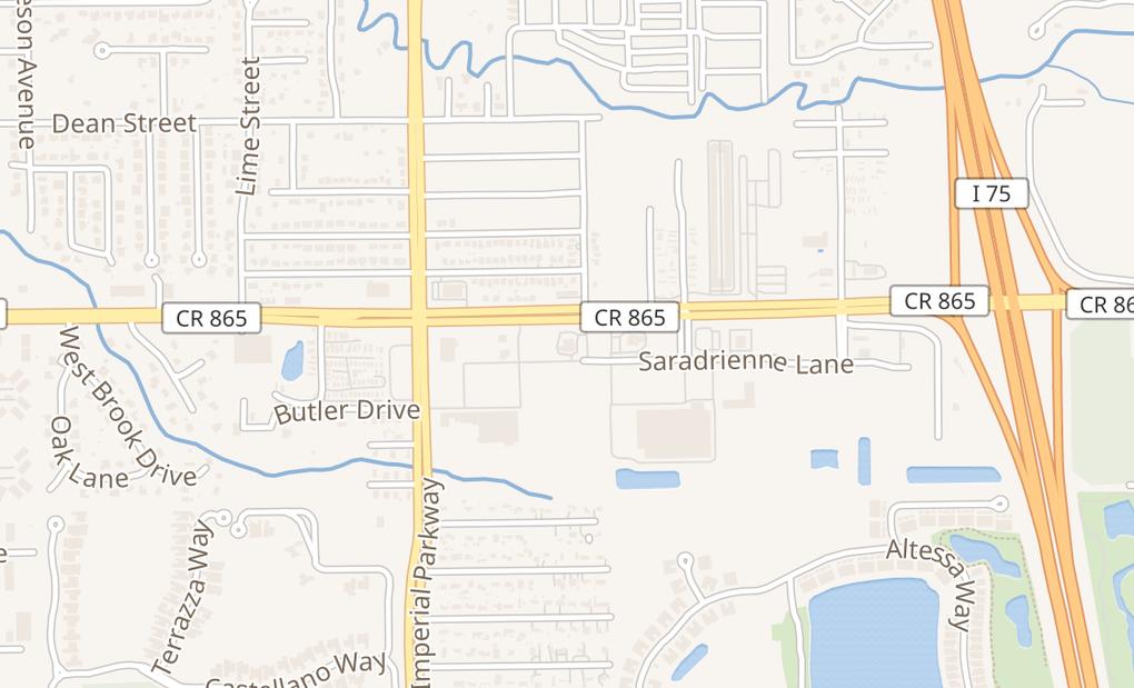 map of 11721 Bonita Beach Rd SEBonita Springs, FL 34135-5933