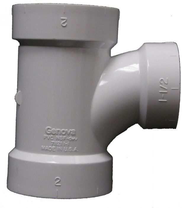 LDR 3 X 1 2 PVC Sanitary Tee Dwv FPV RT 33112 At Rural King Henderson KY 8