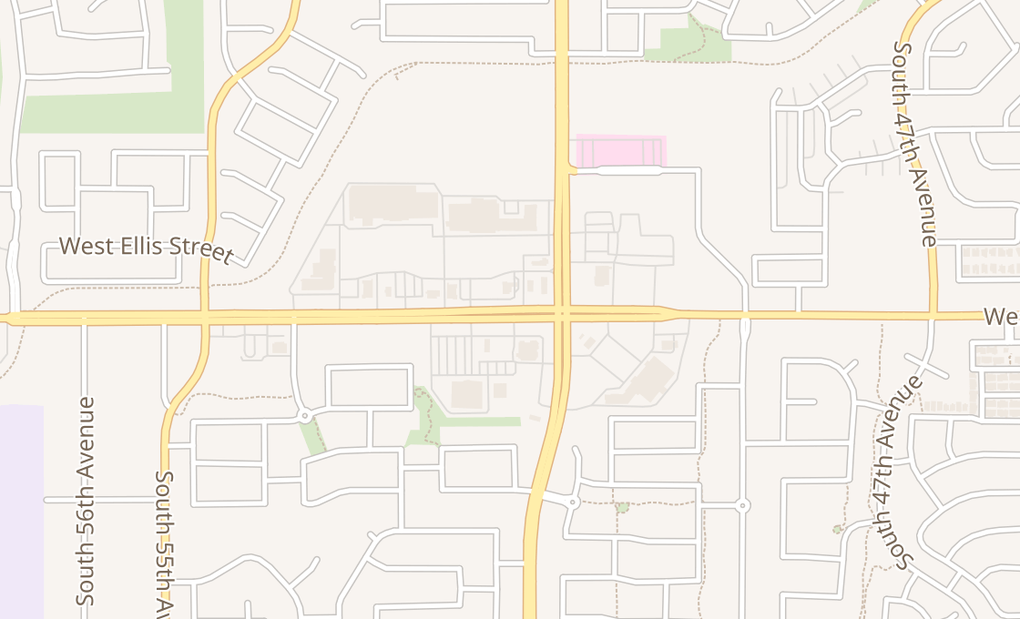 map of 5130 W Baseline Rd #113Laveen, AZ 85339