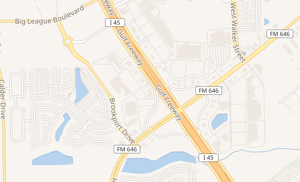 map of 2925 Gulf Fwy S Ste GLeague City, TX 77573