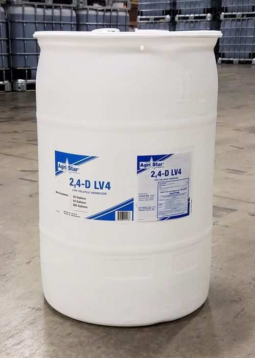 agristar 2 4 d lv 4 weed killer 30 gallon drum bloomington in at