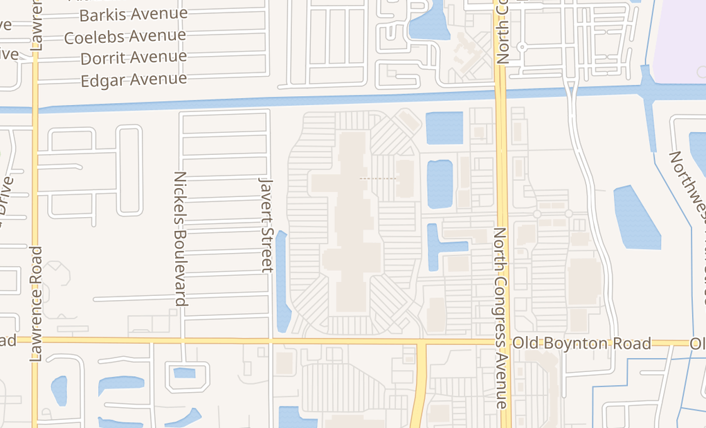map of 801 N Congress Ave Ste 321ABoynton Beach, FL 33426