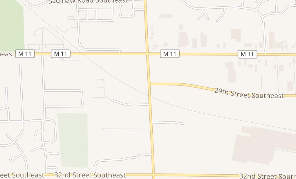 map of 2927 Breton Rd SeGrand Rapids, MI 49512