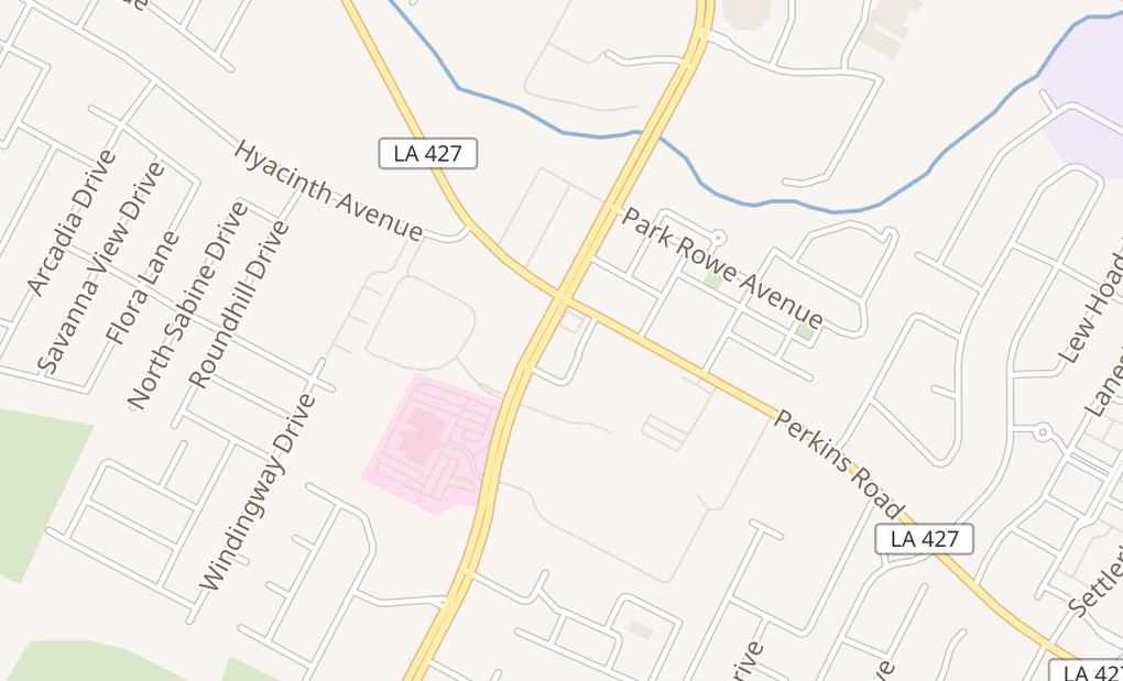 map of 7819 Bluebonnet Blvd Ste A-BBaton Rouge, LA 70810