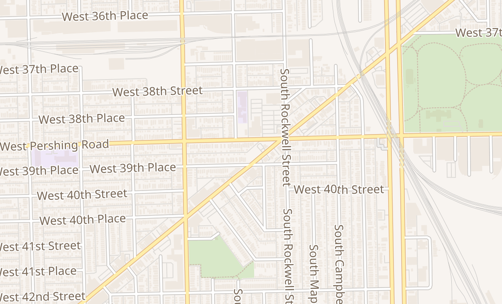 map of 3924 S Archer AveChicago, IL 60632