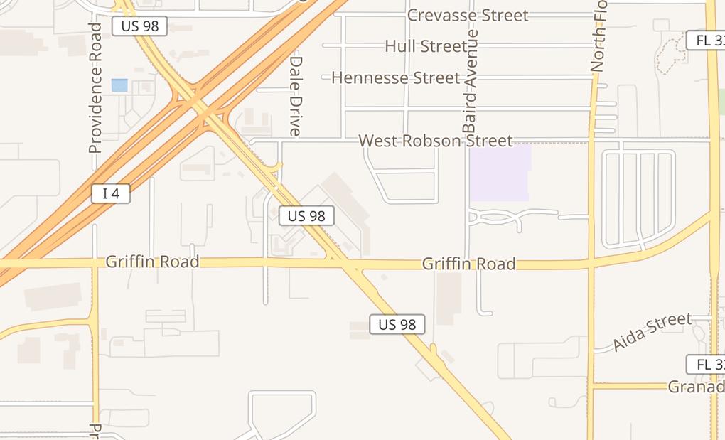 map of 3145 US Highway 98 NLakeland, FL 33805