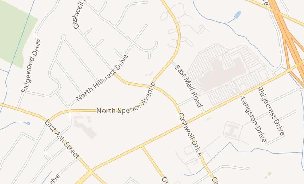 map of 2804 Cashwell DrGoldsboro, NC 27534