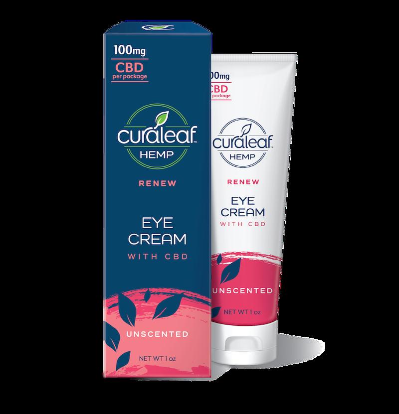 Curaleaf - Eye Cream 100mg CBD - Unscented - Curaleaf