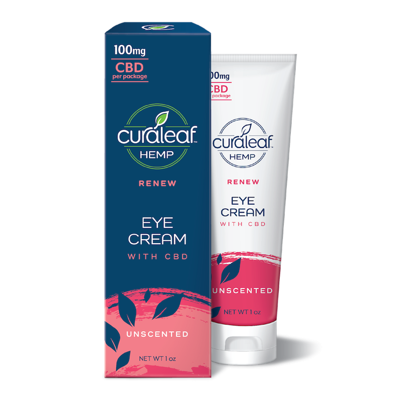 Eye Cream 100mg CBD | Unscented - Curaleaf