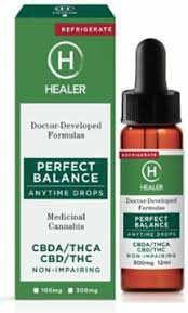 Healer-Perfect Balance 300mg at Curaleaf Gaithersburg