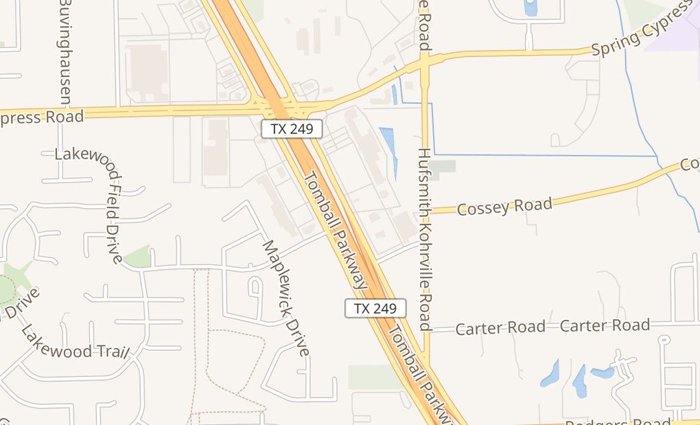 map of 22560 Tomball Pkwy Ste 300Houston, TX 77070