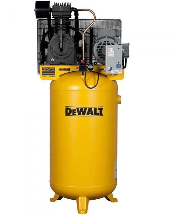 Rural King Air Compressor >> Dewalt 7 5 Hp 80 Gallon Two Stage Oil Lube Industrial Air Compressor