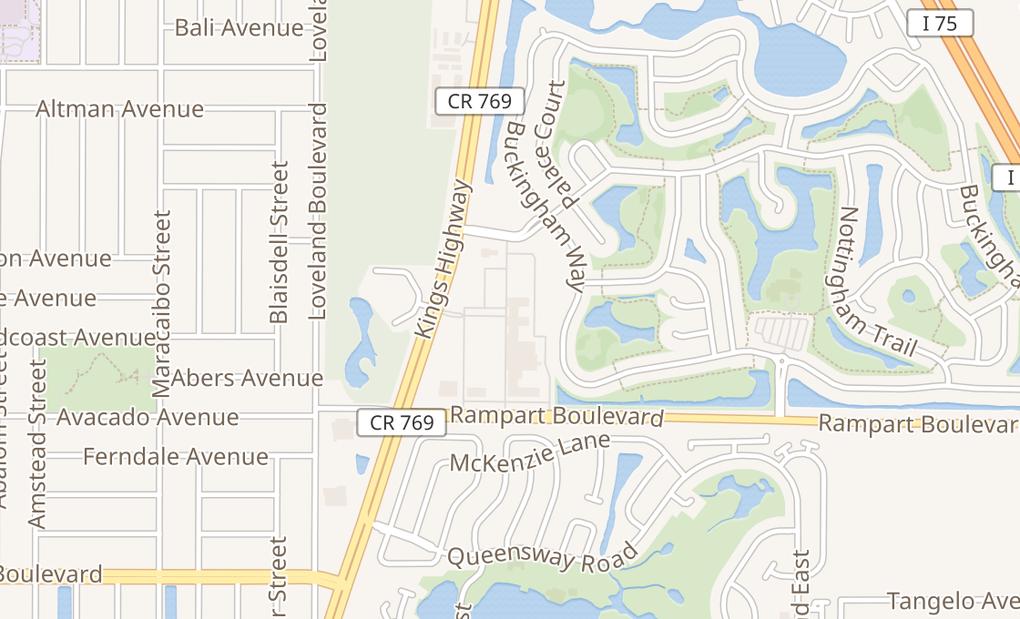 map of 1994 Kings HwyPort Charlotte, FL 33980-4214