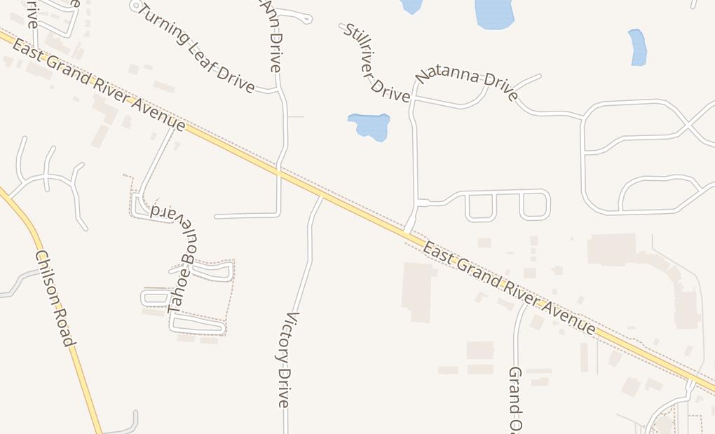 map of 3220 E Grand River AveHowell, MI 48843