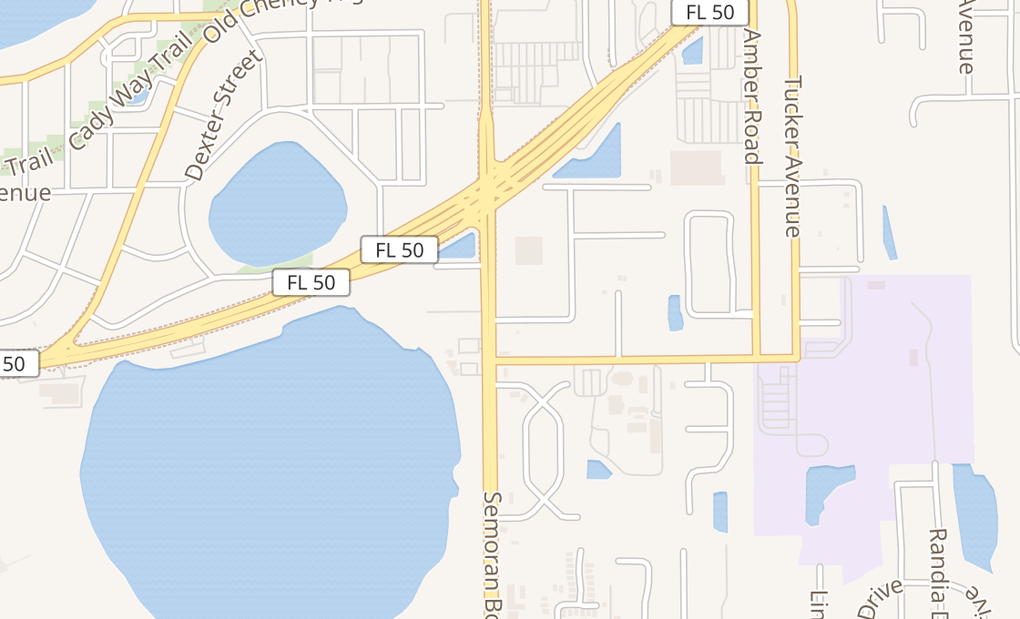 map of 775 N Semoran BlvdOrlando, FL 32807-3446
