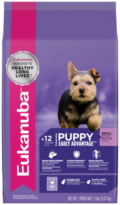 Eukanuba Small Breed Puppy Food 5 Lb Bag 3967 Evansville In At