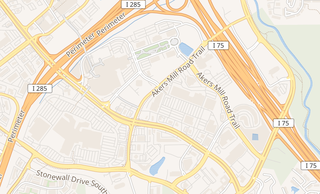 map of 2955 Cobb Pkwy Se Ste 260Atlanta, GA 30339