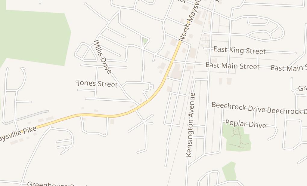 map of 75 N Maysville AveSouth Zanesville, OH 43701