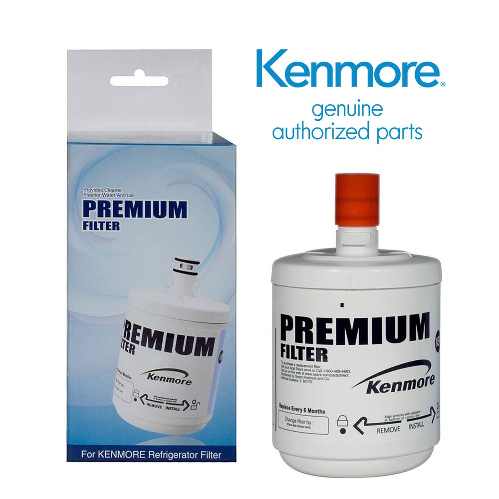Kenmore 09890 Refrigerator Water Filter 500Gallon Capacity