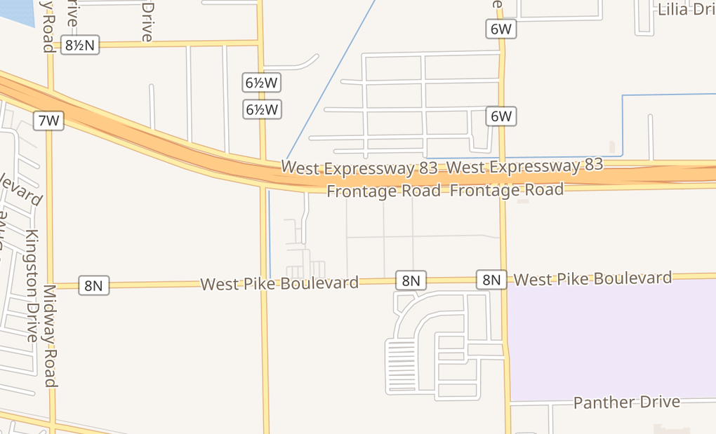 map of 1010 Town Center BlvdWeslaco, TX 78596